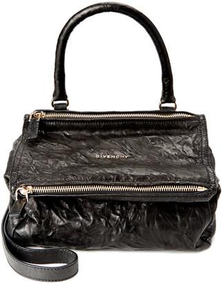 Givenchy Pandora Small Aged Leather Shoulder Bag