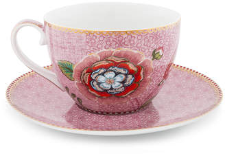 Pip Studio Spring To Life Cappuccino Cup & Saucer