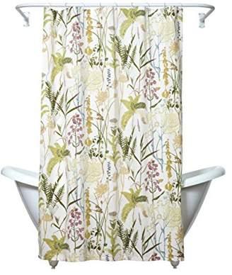 Zenna Home Huntington Fabric Shower Curtain