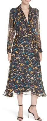 Equipment Vivienne Silk Midi Dress