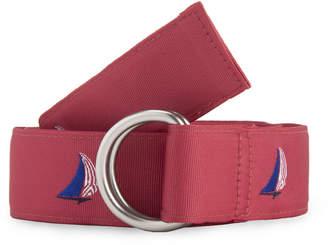 Vineyard Vines Sailboat Icon D-Ring Belt