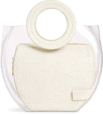 STAUD Frida Transparent Handbag