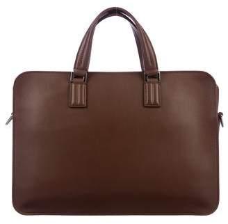 Loro Piana Grained Leather Satchel