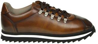 Doucal's Brandy Leather Sneakers