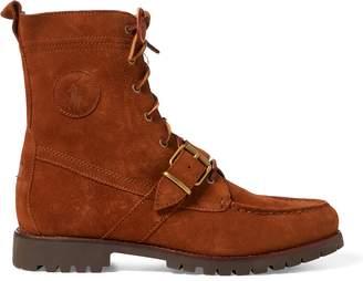 Ralph Lauren Ranger Suede Boot