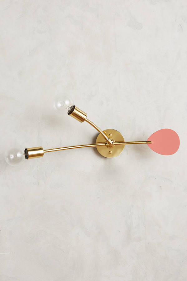 AnthropologieAnthropologie Lacquered Mobilesque Sconce