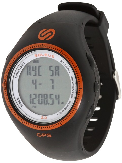 Soleus GPS 2.0 (Black/Orange) - Jewelry