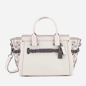 Coach Women's Swagger 27 Tote Bag - Chalk