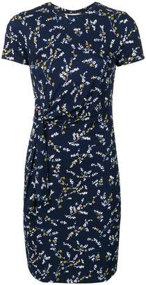 MICHAEL Michael Kors fitted floral print dress