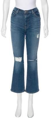 IRO Mid-Rise Straight-Leg Jeans w/ Tags