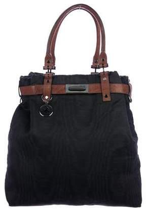 Lanvin Leather Trim Satchel