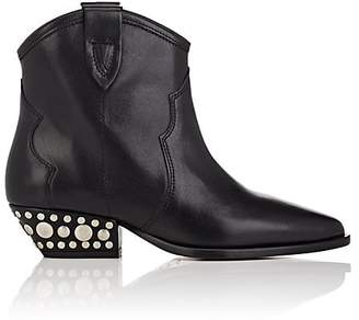 Isabel Marant Women's Dawyna Studded Leather Ankle Boots