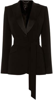 Karen Millen Belted Tuxedo Jacket