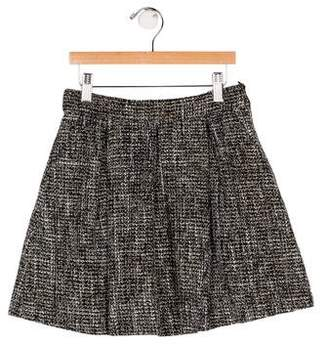 Imoga Girls' Tweed Mini Skirt