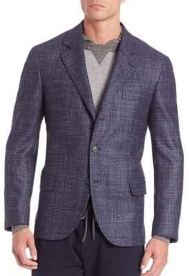 Brunello Cucinelli Wool-Blend Sportscoat