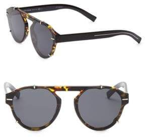 Christian Dior 62MM Black Tie Tortoise-Shell Sunglasses