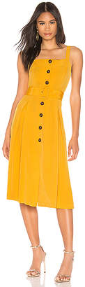 J.o.a. Buttoned Down Belted Dress