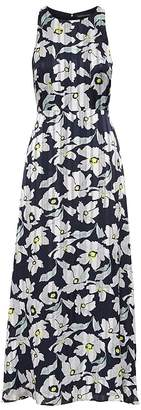Banana Republic Petite Floral Fit-and-Flare Maxi Dress