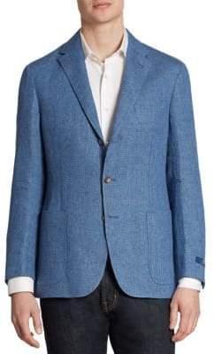 Ralph Lauren Morgan Yale Regular-Fit Linen & Wool Sportcoat