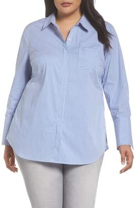 Sejour Tunic Button Down Shirt