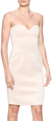 Blaque Label Scuba Strapless Dress