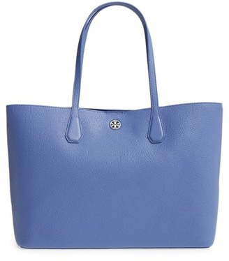 Tory Burch Perry Leather Tote $395 thestylecure.com