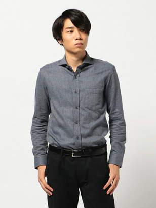 Men's Bigi (メンズ ビギ) - CROWDED CLOSET ソフト起毛シャツ/コットンツイル メンズ ビギ シャツ/ブラウス