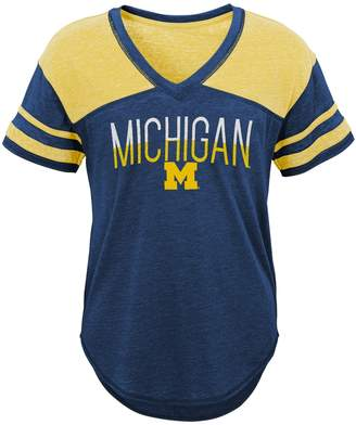 Juniors' Michigan Wolverines Traditional Tee