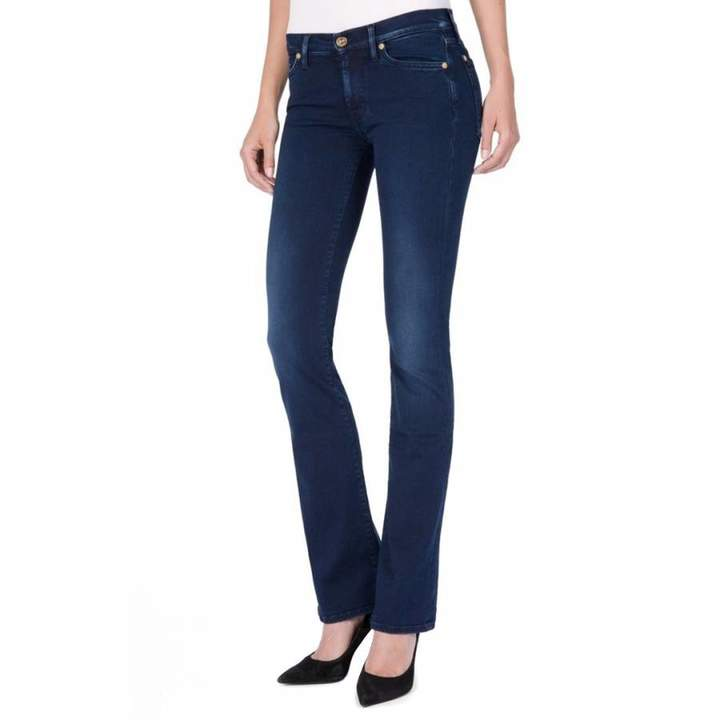 Indigo Skinny Stretch Bootcut Jeans