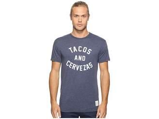 Original Retro Brand The Short Sleeve Heathered Tacos and Cervezas Tee