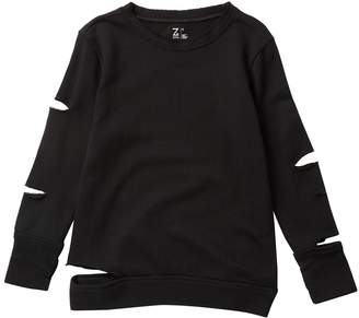 Zella Z By Slit Long Sleeve Top (Little Girls & Big Girls)
