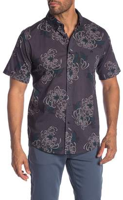 Ezekiel Choked Up Floral Short Sleeve Regular Fit Shirt