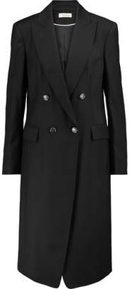 Temperley London Stitch-Trimmed Wool-Blend Coat