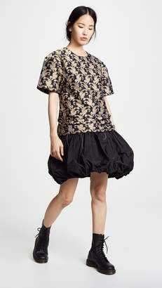Marques Almeida T-Shirt Dress With Ruffles