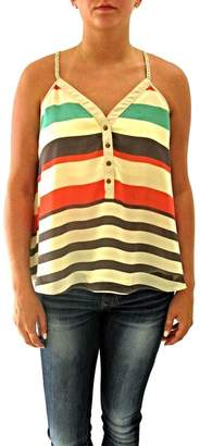 Double Zero Striped Tank