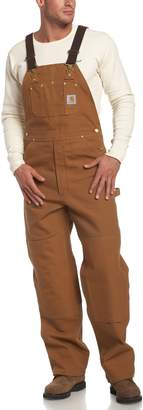 Carhartt Men's Duck Bib Overall Unlined R01