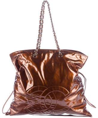 Chanel Patent Leather Bon Bon Tote