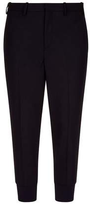 Neil Barrett Cropped Side Stripe Trousers