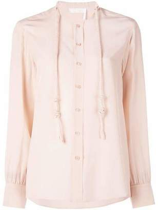 Chloé Button Front Rope Detailed Shirt