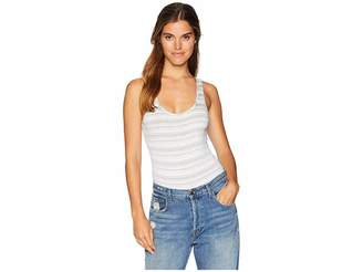 Michael Stars Kali Stripe Sleeveless Bodysuit