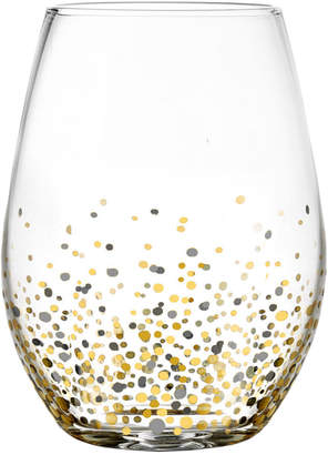 Jay Import Ombre Gold Stemless Set Of 4 Glasses
