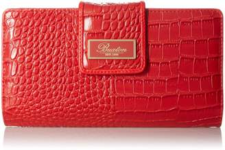 Buxton Women's Exotic Heritage Superwallet - Unboxed