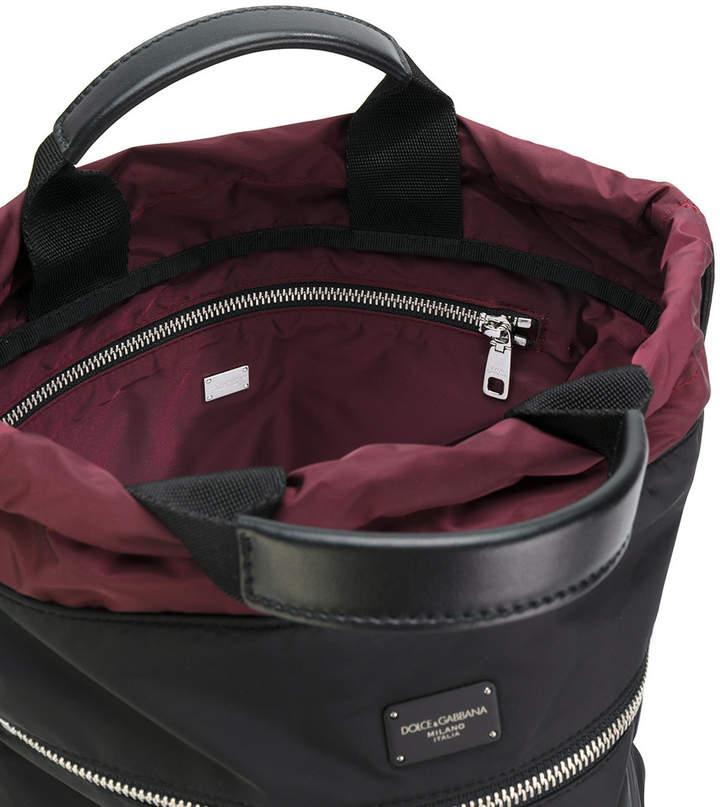 Dolce & Gabbana designer`s patch backpack