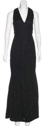 Carmen Marc Valvo Sleeveless Evening Dress