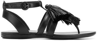 Hogan fringed sandals