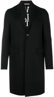 Valentino classic single-breasted coat