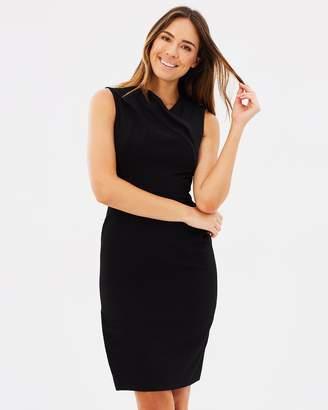 Karen Millen Draped Pencil Dress