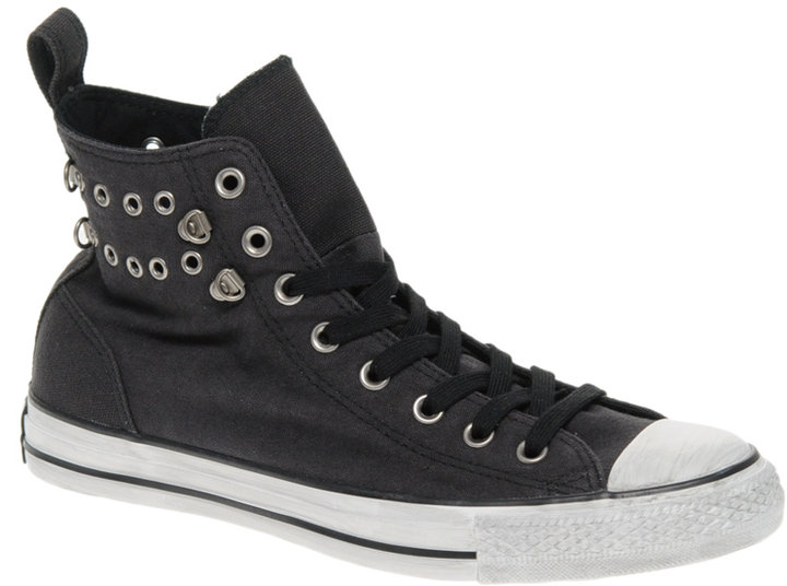 Converse All Star Eyelet detail High Top Sneakers