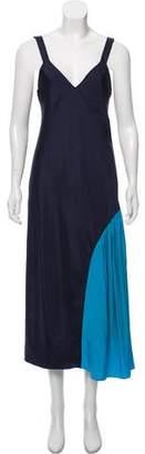 Tibi Colorblock Slip Dress w/ Tags