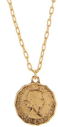 Yochi Coin Pendant Necklace